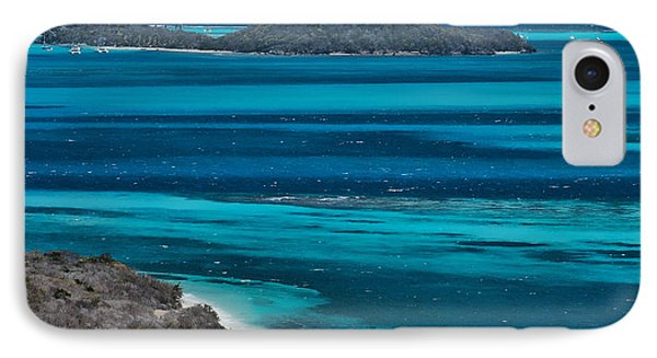 IPhone Case featuring the photograph Tobago Cays by Don Schwartz