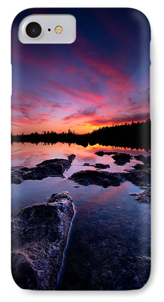 Tobermory Sunset 2 IPhone Case by Cale Best