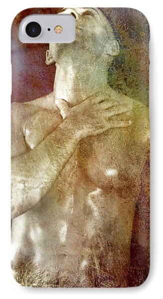 Mystery Prayer IPhone Case by Mark Ashkenazi