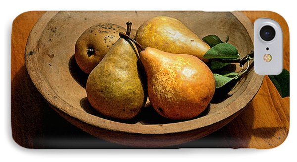 Today's Pears Phone Case by Gwyn Newcombe