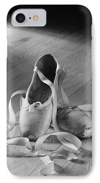 Toe Shoes IPhone Case by Tony Cordoza