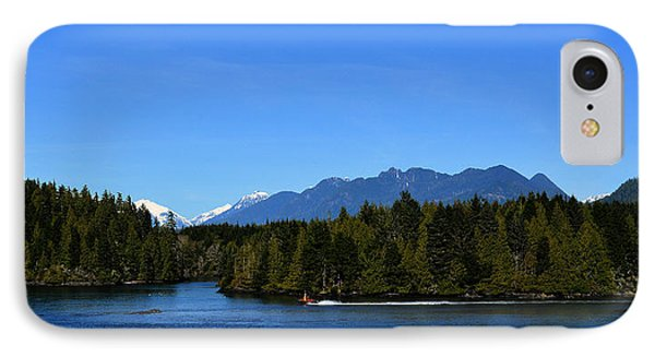 Tofino Bc Clayoquot Sound Browning Passage IPhone Case by Lawrence Christopher
