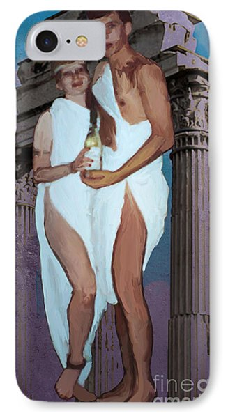 IPhone Case featuring the photograph Toga by Megan Dirsa-DuBois