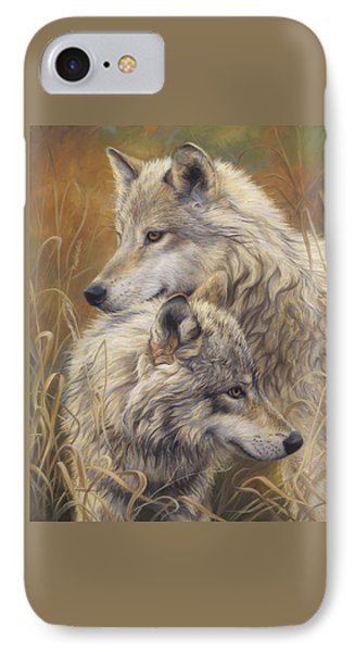 Together IPhone Case by Lucie Bilodeau