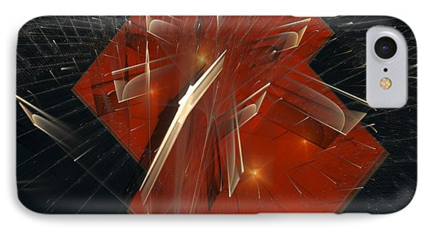 IPhone Case featuring the digital art Together by Melissa Messick