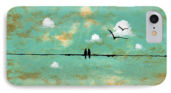 Together Phone Case by Todd Young