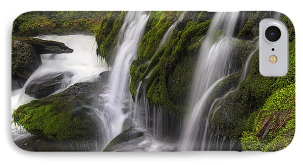 Tokul Creek Cascades IPhone Case by Mark Kiver