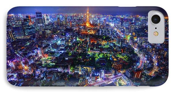 Tokyo Dreamscape IPhone Case by Midori Chan