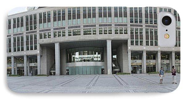 Tokyo Metropolitan Government Complex IPhone Case by David Bearden