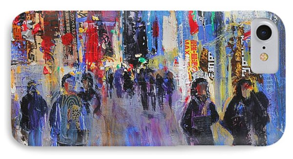 Tokyo Night IPhone Case by Sylvia Paul