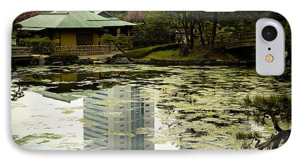 Tokyo Reflection IPhone Case by Sebastian Musial