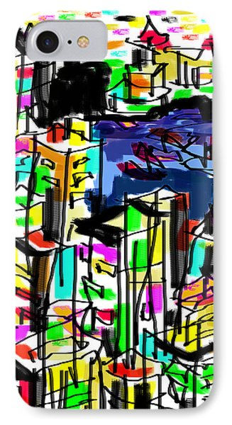 IPhone Case featuring the digital art Tokyo by Sladjana Lazarevic