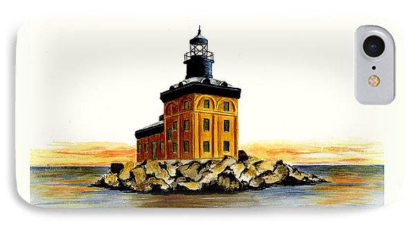 Toledo Harbor Lighthouse Phone Case by Michael Vigliotti