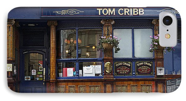 Tom Cribb Pub IPhone Case by Cheri Randolph