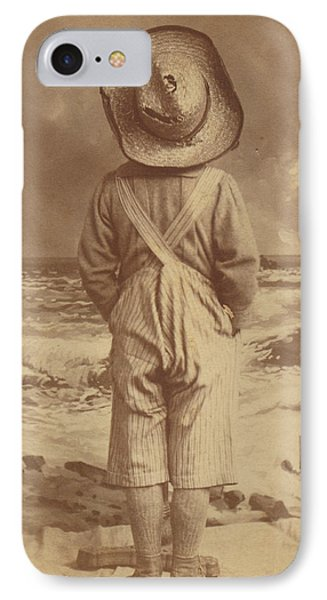 Tom Sawyer At The Beach IPhone Case
