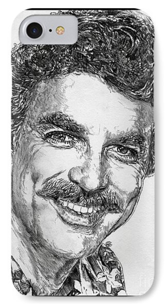 Tom Selleck In 1984 IPhone Case