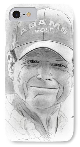 Tom Watson IPhone Case by Pat Moore