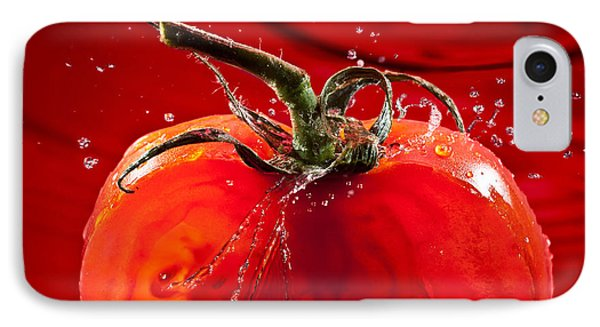 Tomato Freshsplash 2 Phone Case by Steve Gadomski