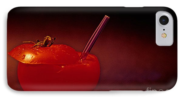 IPhone Case featuring the photograph Tomato Juice by Sharon Elliott