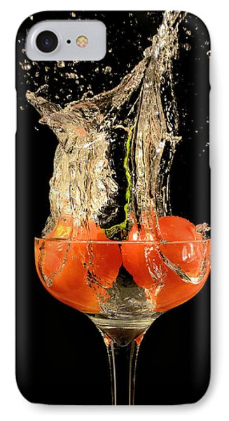 Tomato Splash IPhone Case by Thomas Born