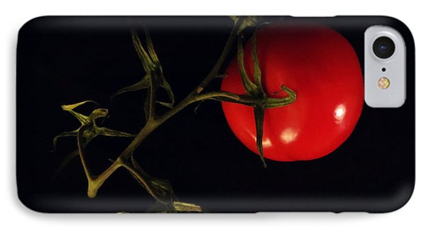 Tomato With Stem Phone Case by Patricia Januszkiewicz
