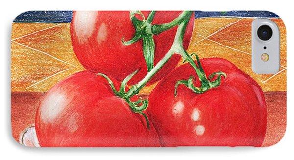 Tomatoes Phone Case by Anastasiya Malakhova