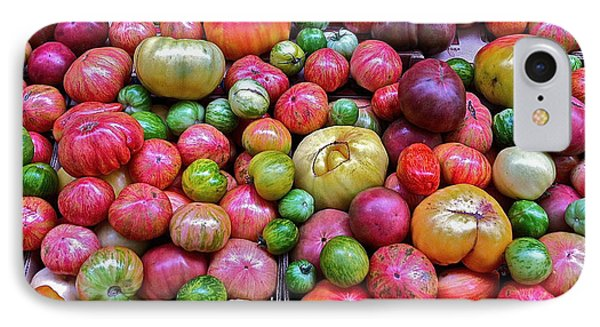 IPhone Case featuring the photograph Tomatoes by Bill Owen