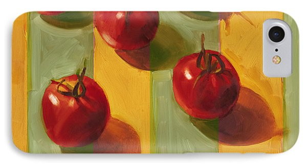 Tomato iPhone 7 Case - Tomatoes by Cathy Locke