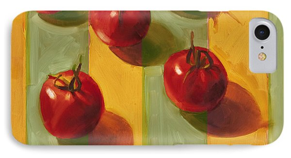 Tomatoes IPhone 7 Case by Cathy Locke