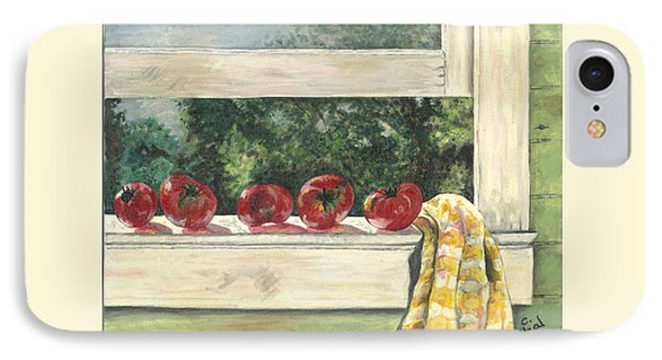 Tomatoes On The Sill IPhone Case
