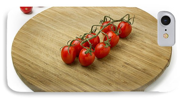 Tomatoes On Wooden Cutting Board IPhone Case