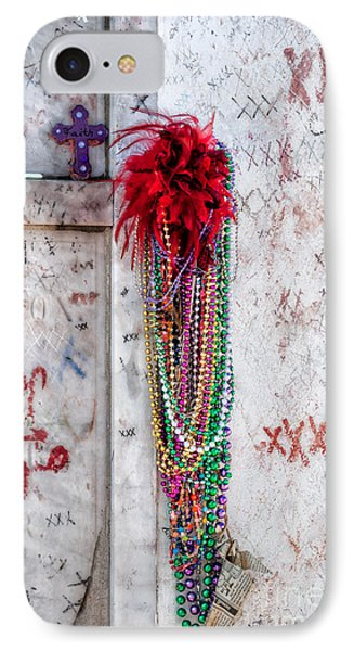 Tomb Of Marie Laveau New Orleans IPhone Case by Kathleen K Parker