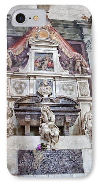 Tomb Of Michelangelo IPhone Case