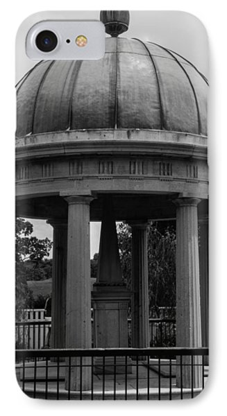 IPhone Case featuring the photograph Tomb Of President Andrew Jackson And Wife Rachael by Robert Hebert