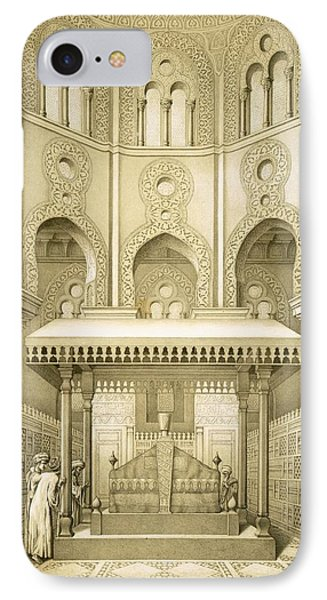 Tomb Of Sultan Qalaoun In Cairo IPhone Case by French School
