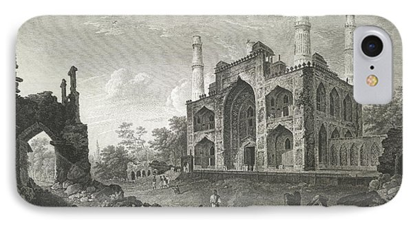 Tomb Of The Emperor Akbar IPhone Case by British Library
