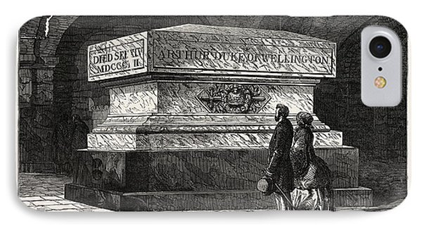 Tomb Of The Late Duke Of Wellington In The Crypt Of St IPhone Case