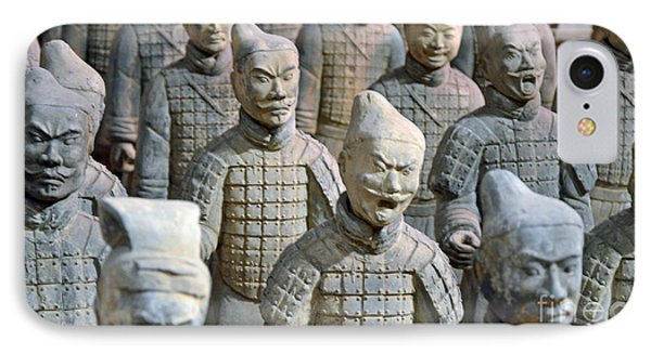 IPhone Case featuring the photograph Tomb Warriors by Robert Meanor