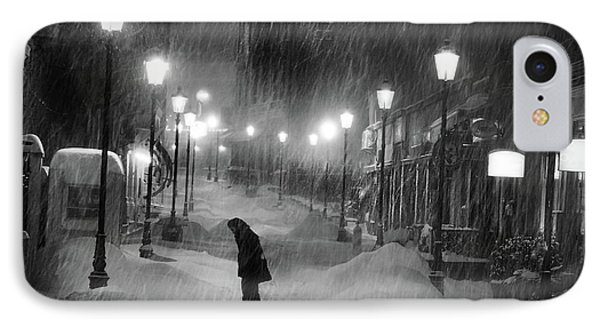 Tombe La Neige... IPhone Case