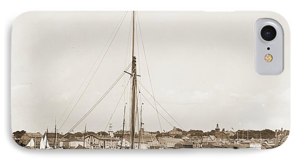 Tomboy, Tomboy Yacht, Harbors, Yachts IPhone Case by Litz Collection