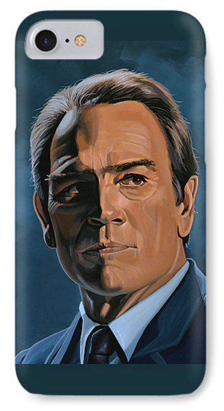 Tommy Lee Jones IPhone Case by Paul Meijering