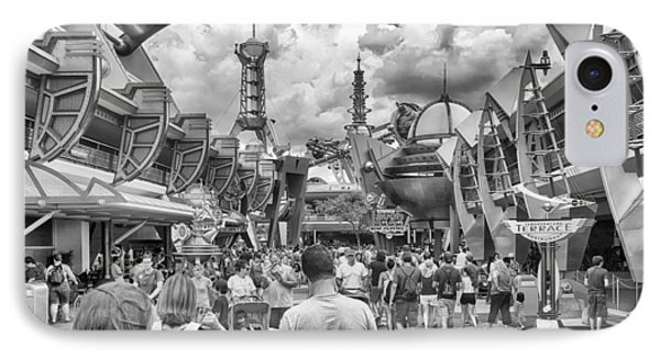IPhone Case featuring the photograph Tomorrowland by Howard Salmon
