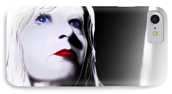 IPhone Case featuring the digital art Tomorrow's Memory by Jeremy Martinson
