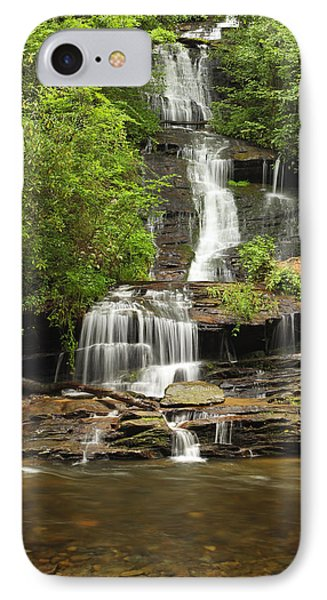 Toms Branch Falls IPhone Case by Harold Rau
