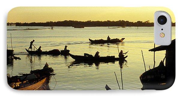 Tonle Sap Sunrise 04 IPhone Case