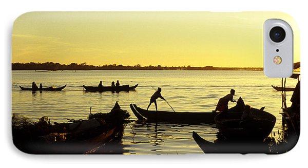 Tonle Sap Sunrise 05 IPhone Case