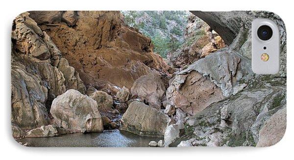 Tonto Natural Bridge 2 Phone Case by Richard Brown
