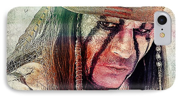 Tonto Painting IPhone Case by Marvin Blaine