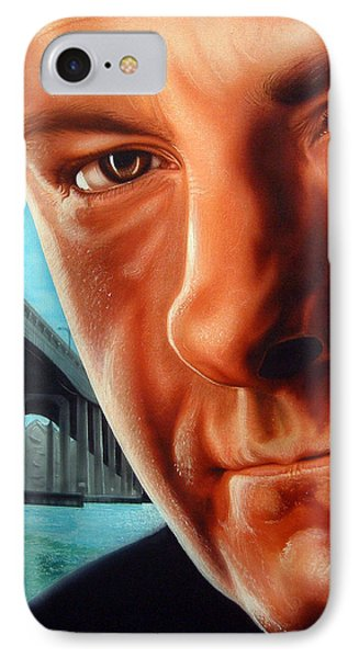 Tony Boss Of Bosses IPhone Case by Dan Menta
