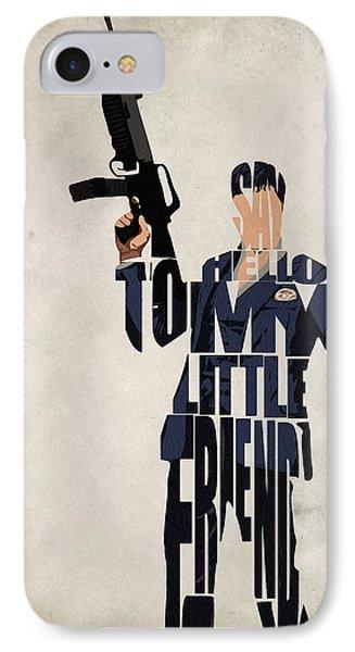 Tony Montana - Al Pacino IPhone Case by Ayse Deniz